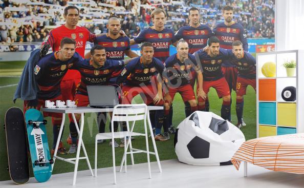 Fototapeta piłka nożna Fc Barcelona