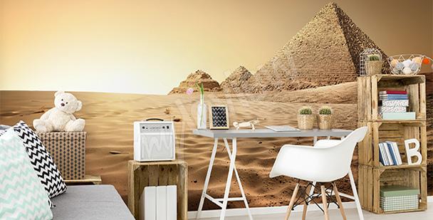 Fototapeta piramidy w Egipcie