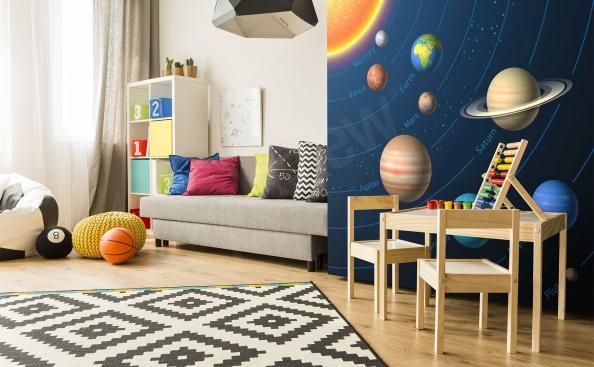 Fototapeta planety Układu Słonecznego