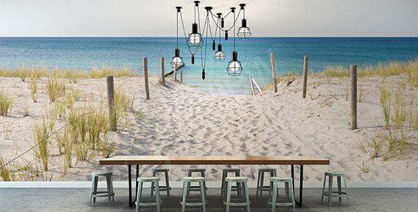 Fototapeta plaża i morze
