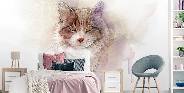 Fototapeta kot do pokoju młodzieżowego
