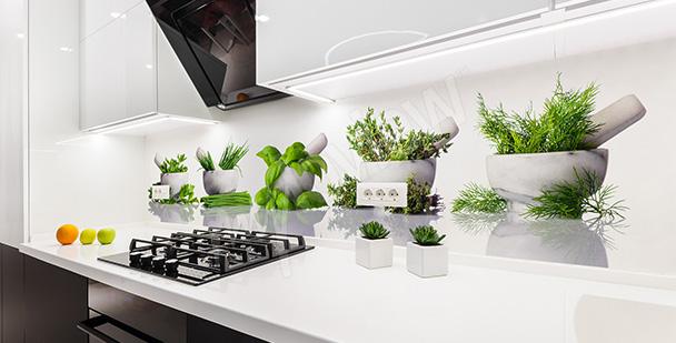 Fototapeta przyprawy kuchenne