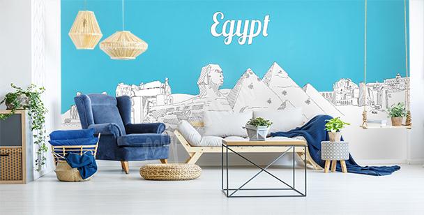Fototapeta pustynia w Egipcie