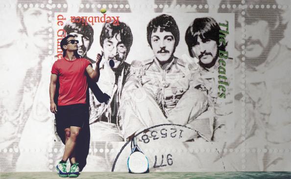 Fototapeta retro The Beatles