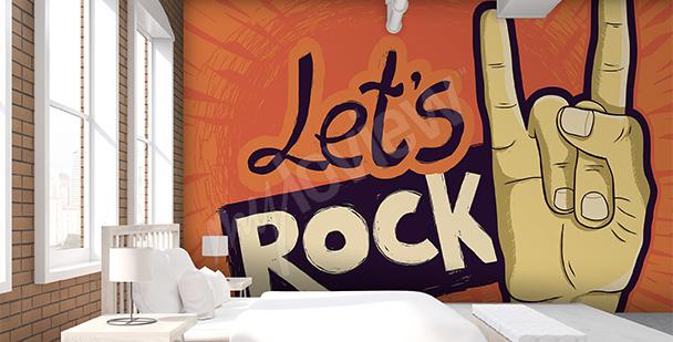 Fototapeta rock dla nastolatka