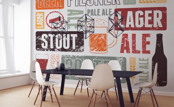 Fototapeta rodzaje piwa