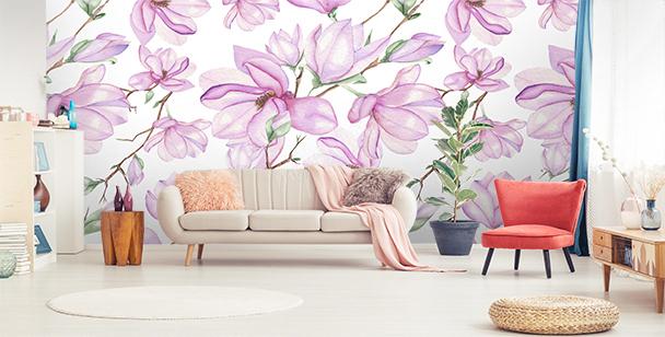 Fototapeta różowe magnolie