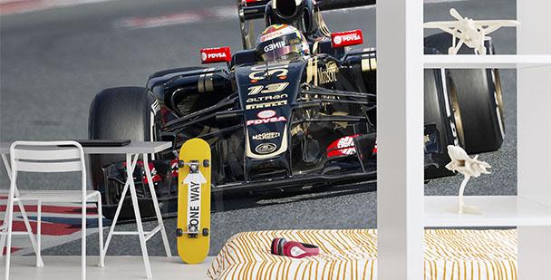 Fototapeta samochód F1
