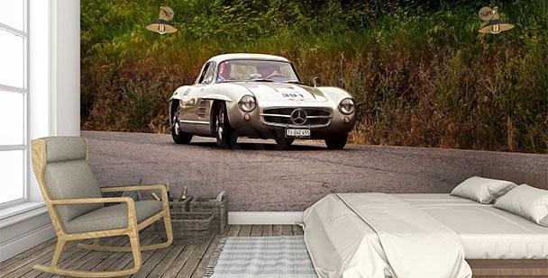 Fototapeta samochód retro