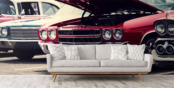 Fototapeta samochody do salonu