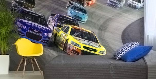 Fototapeta samochody NASCAR