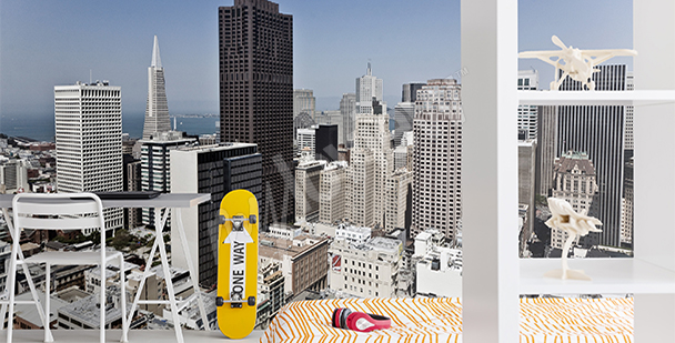 Fototapeta San Francisco 3D