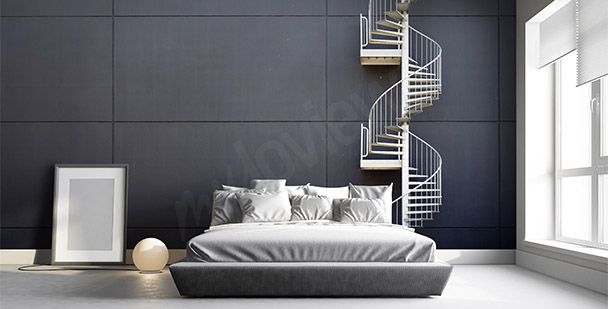 Fototapeta schody do sypialni