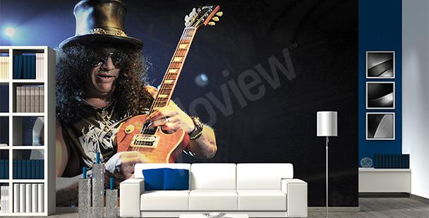 Fototapeta Slash z gitarą