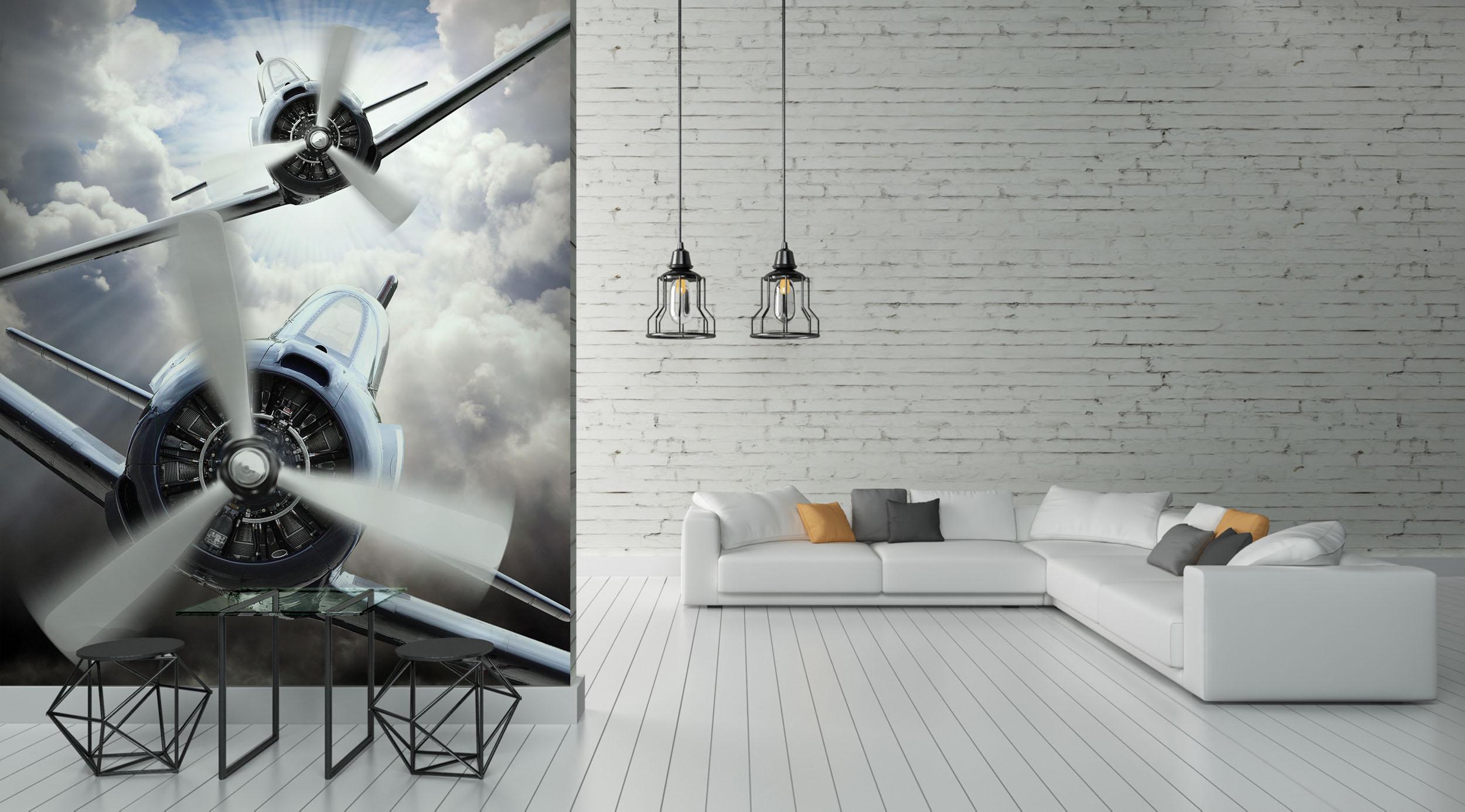 Fototapeta śmigła samolotów
