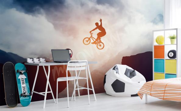 Fototapeta sport rower do pokoju nastolatka