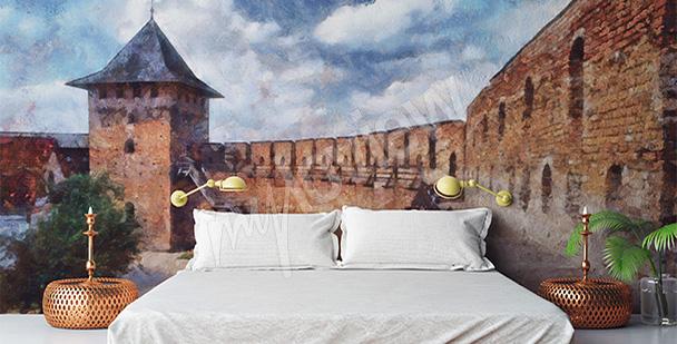 Fototapeta średniowieczny zamek