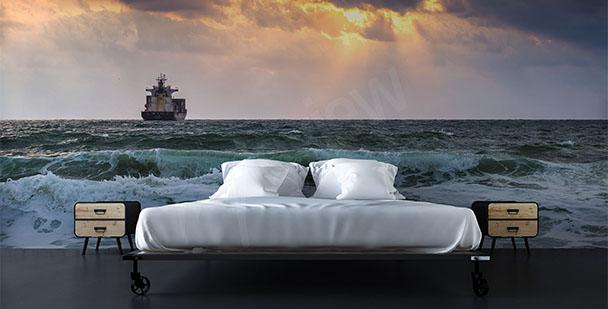 Fototapeta statek do sypialni