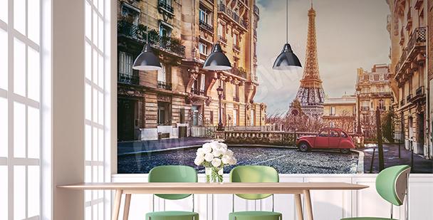 Fototapeta stolica Francji