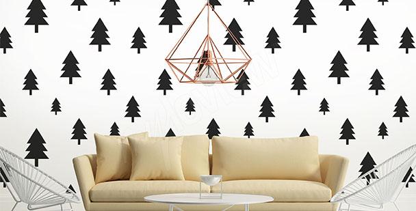 Fototapeta styl skandynawski: drzewa