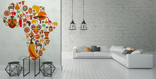 Fototapeta symbole Afryki