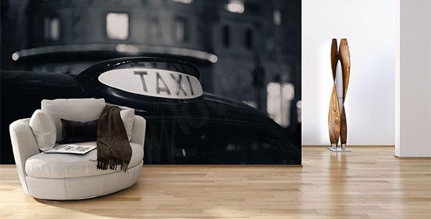 Fototapeta taksówka vintage