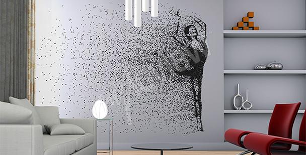 Fototapeta tancerka - styl minimal