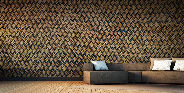 Fototapeta tekstura bambusa