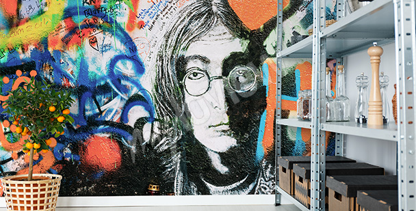 Fototapeta The Beatles hippie