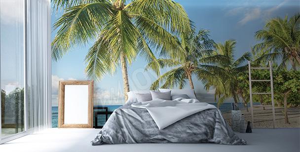 Fototapeta tropiki do sypialni