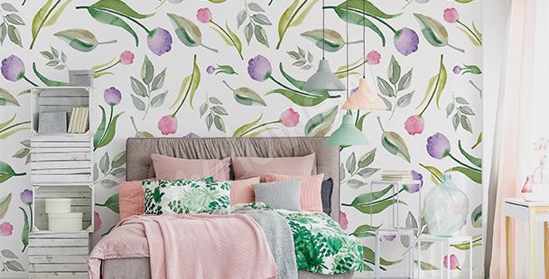 Fototapeta tulipany do sypialni