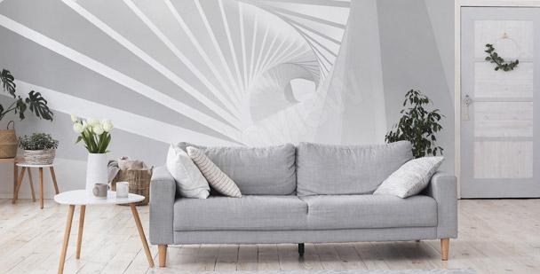 Fototapeta tunel 3D – spirala