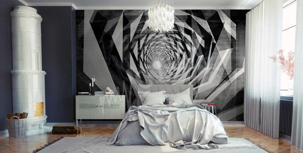 Fototapeta tunel hipnotyczny