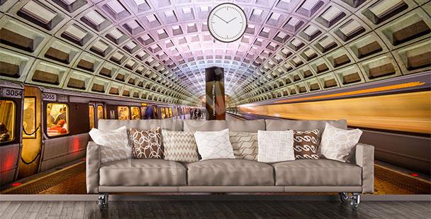 Fototapeta tunel kolejowy