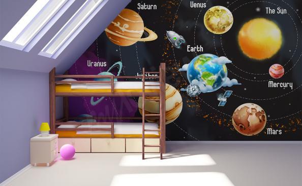 Fototapeta Układ Słoneczny dla dzieci