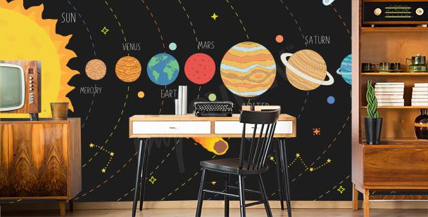Fototapeta Układ Słoneczny do biura