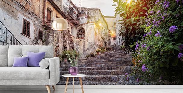 Fototapeta uliczka włoskiego miasta
