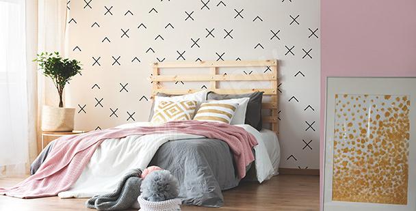 Fototapeta abstrakcyjna do sypialni