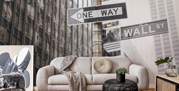 Fototapeta Nowy Jork czarno-biała