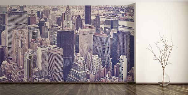 Fototapeta wieżowce nowojorskie