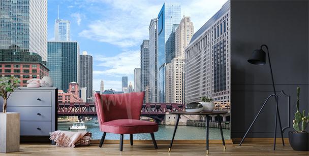Fototapeta wieżowce w Chicago