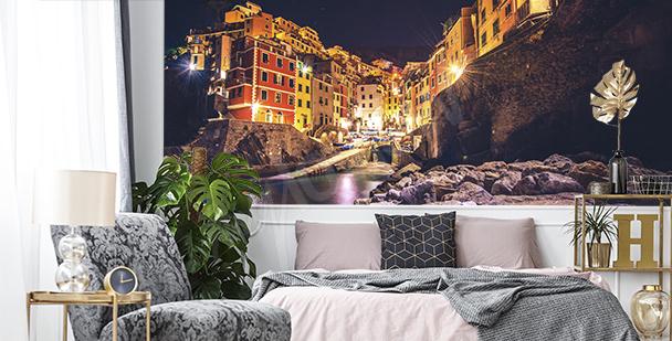 Fototapeta włoskie miasto nocą