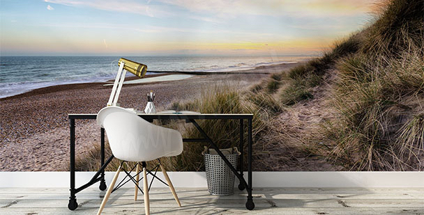 Fototapeta wydmy na plaży