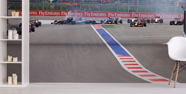 Fototapeta wyścig F1