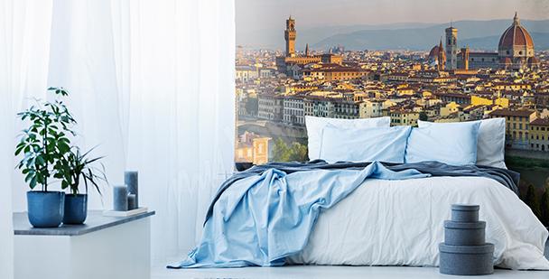 Fototapeta panorama miasta 3D