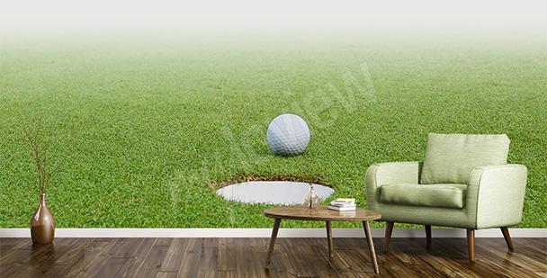 Fototapeta z motywem golfowym