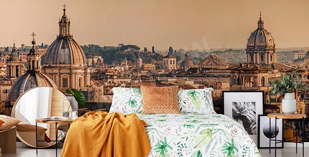 Fototapeta z pejzażem na Rzym