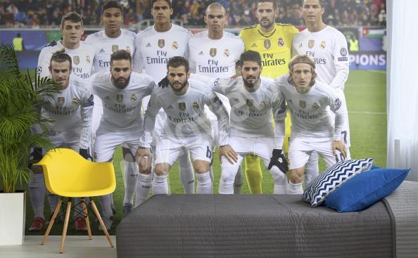 Fototapeta z piłkarzami