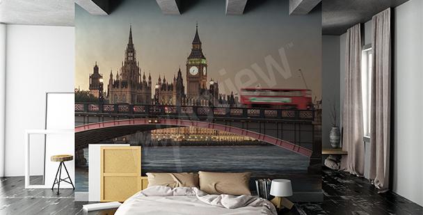 Fototapeta z widokiem Londynu