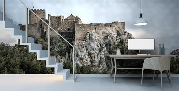 Fototapeta zamek w Hiszpanii